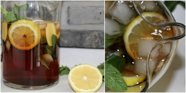 איך להכין תה קר