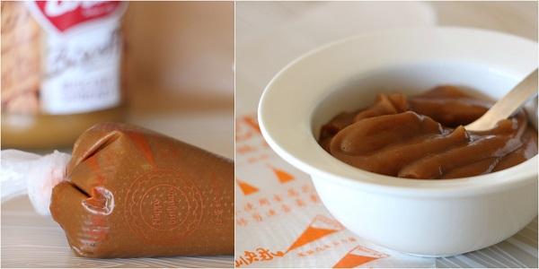 קרם עם ממרח לוטוס מתכון