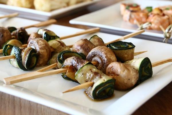 זוקיני ופטריות אירוח בסטייל