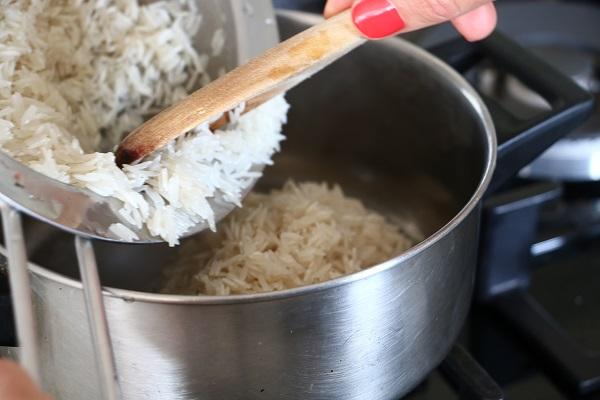 אורז לבן מתכון אשת סטייל