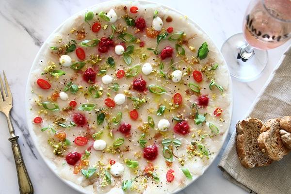 איך להכין קרפצ'יו דג - בקלי קלות - אירוח בסטייל - EshetStyle (צילום: טליה הדר)