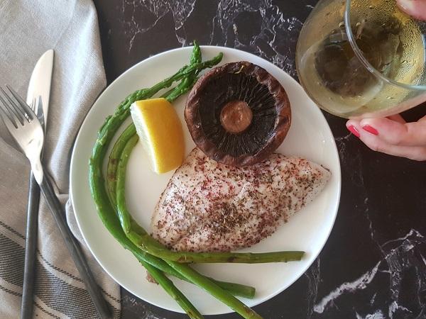פילה דניס מתכון מנצח - 6 דקות וזה מוכן EshetStyle-בלוג אוכל ואירוח (צילום: טליה הדר)