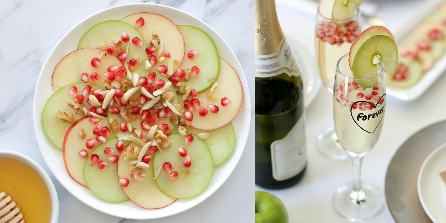 תפוח בדבש וקוקטייל חגיגי לראש השנה - לאירוח בסטייל - אשת סטייל EshetStyle (צילום: טליה הדר)