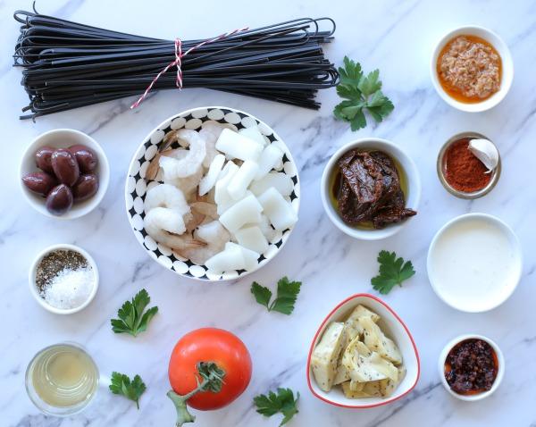 מה צריך כדי להכין פסטה פירות ים בבית בכמה דקות_מתכון קל_הבלוג של טליה הדר (צילום: טליה הדר) EshetStyle.com
