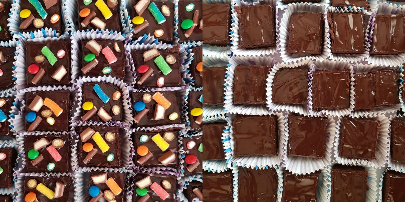 עוגת יום הולדת מקושטת בממתקים_טיפ פרקטי לילדים מבסוטים_אשת סטייל