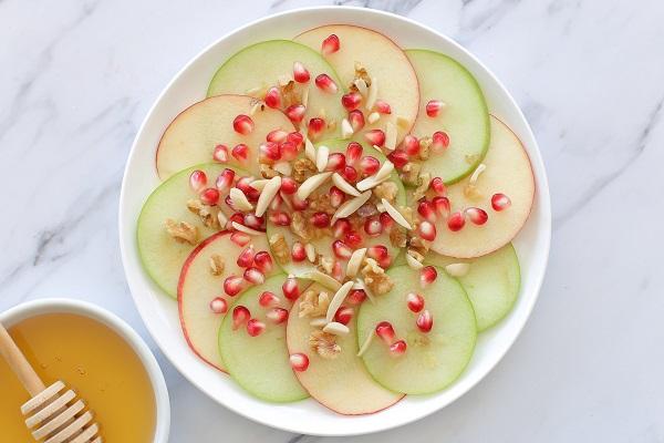 תפוח בדבש_הגשה בסטייל_אירוח בסטייל (צילום: טליה הדר) אשת סטייל